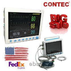 12.1 inch Cardiac Monitor Vital Signs ICU Patient Monitor Machine 7 Parameters