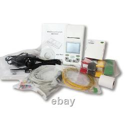 12 Channel Electrocardiograph ECG EKG Machine 12 lead Touch LCD, Software, Printer