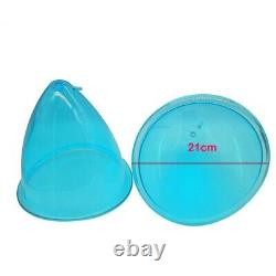 21cm Replacement Big Cups for Buttock Breast Enlargement Vacuum Machine Cup set
