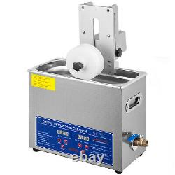 6L Ultrasonic Record Cleaner 6 Records Vinyl Ultrasonic Cleaning Machine