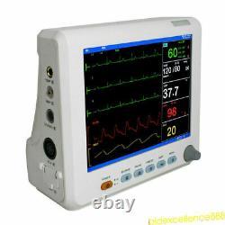 8 Portable Multi-parameter Vital Signs Monitor Patient Monitor ICU CCU Machine