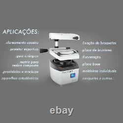 BIOART Dental Lab Vacuum Forming Machine PlastVac-P7 1400W Made in Brazil 110V