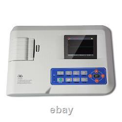 CE FDA ECG100G Hand-held Single Channel 12 Lead Digital ECG EKG Machine, CONTEC