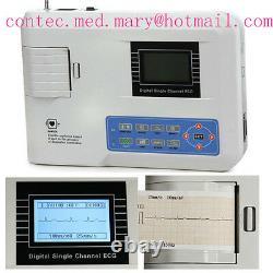 CONTEC Digital 1 Channel 12 lead ECG Machine EKG Electrocardiograph FDA US