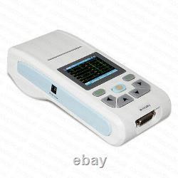 CONTEC Digital 12 Channel 12-lead ECG/EKG Machine Electrocardiograph, PC Software
