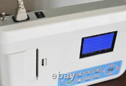 CONTEC ECG300G Digital 3-Channel 12-LEAD Electrocardiograph ECG machine +PC SW