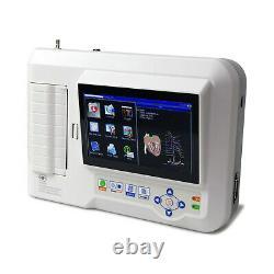 CONTEC ECG600G Digital 6 Channel 12 lead ECG/EKG machine Electrocardiograph USB