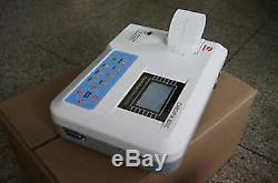 CONTEC Portable ECG Machine EKG Monitor electrocardiograph Free Printer ECG100G