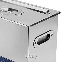 Commercial 22L Ultrasonic Cleaner Cleaning Machine Industry Heated with Timer New
