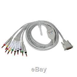 Contec ECG300G Digital Three Channels ECG/EKG Machine Electrocardiograph+USB SW