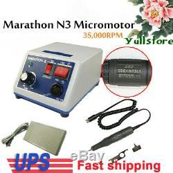 Dental Electric Micromotor MARATHON Polishing machine+Lab 35000 RPM Handpiece
