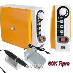Dental Lab Brushless Micromotor Polishing Machine +60k RPM Micro Motor Handpiece