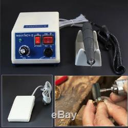 Dental Lab Marathon Polishing Machine Micro Motor With 35000 RPM Handpiece H73L1