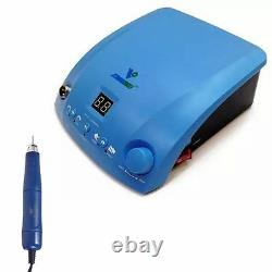 Dental Lab STRONGDRILL Brushless Micromotor Polishing Polisher Machine+Handpiece