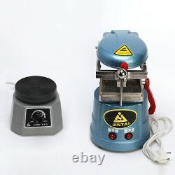 Dental Lab Vacuum Forming Molding Machine / 4Round Shaker Oscillator 220V uk