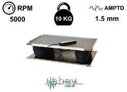 Dental Lab Vibrator Shaker Oscillator Machine Vibrating Table Plaster Vibration