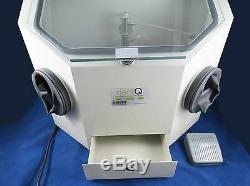 Dental Laboratory Sandblasting Machine Box 026-2 Lab Sandblaster 110V DentQ