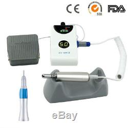 Dental Micro Motor Brushless Grinding Machine 50000rpm + Straight Handpiece