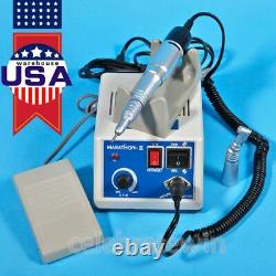 Dental Micro motor Marathon Polisher Machine + Contra Angle Straight Handpiece