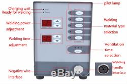 Dental Stainless Steel Spot Laser Welding Machine Automatic Numerical Control