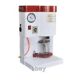 Dental Vacuum Mixer Table Type Mixing Machine work with Air Compressor 110V/220V