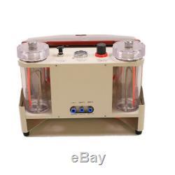 Dental lab twin-pen metal sandblast machine Dental Lab Sand Blasting Unit