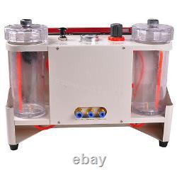 Dental laboratory twin Double Pen Fine blasting Sandblaster machine Sandblast CE