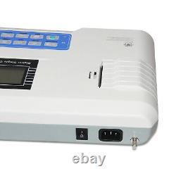 Digital 1 channel 12-lead ECG/EKG color machine Electrocardiograph printer CE