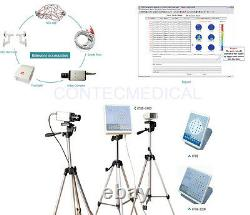 EEG machine CONTEC KT88-2400 Digital 24-Channel EEG and Mapping System+2 Tripods