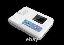 Electrocardiograph Digital single channel 12-lead ECG/EKG Machine Printer US FDA