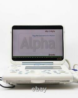 Esaote Mylab Alpha Ultrasound Machine Portable Probe / Transducers Available