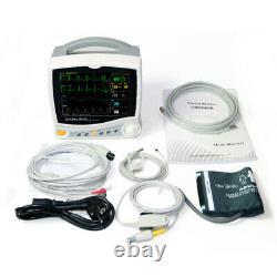 Hospital ICU Multi-Parameter Vital Signs Patient monitor Cardiac Machine, CMS6800