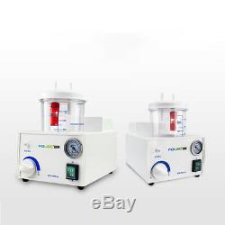 Medical Vacuum Phlegm Portable Quiet Suction Unit Aspirator Machine 110V