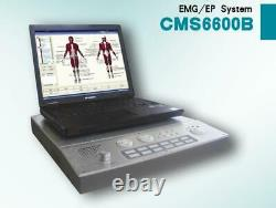 NEW PC based 4-Channel EMG/EP system Machine, Evoked Electromyography CMS6600B CE