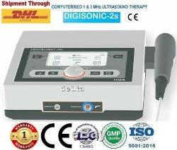 New Physiotherapy Ultrasound Therapy 1Mhz / 3Mhz Pain Relief Ultrasound Device