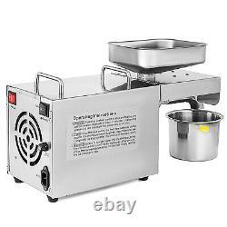 Oil Press Machine Commercial Olive Oil Press 3 6 kg/hr Oil Expeller Machine