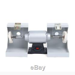 Polisher Polishing Machine Dental Lab Lathe Bench Buffing Grinder Jewelry 110V