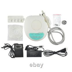 Portable Dental Ultrasonic Scaler Scaling Handpiece Cleaning Teeth Machine+ Tips