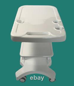 Portable Ultrasound Cart Mobile Trolley with Probe Holder Fetal Machine Scanner