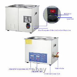 Preenex 10L Commercial Electric Ultrasound Clean Machine Ultrasonic Cleaner 110V