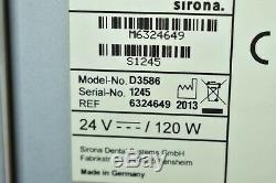 Sirona InEos X5 Dental Acquisition Unit Scanner with inLab MCXL Mill Machine