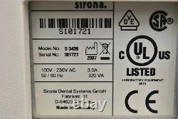 Sirona Mc Xl Dental Lab Cad/Cam Dentistry Milling Machine