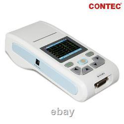 US ECG90A Digital 12-Lead 12 channel ECG EKG Machine Electrocardiograph, Software