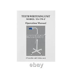 US Portable Dental Mobile Tooth Teeth Whitening Machine LED Light Lamp Bleaching