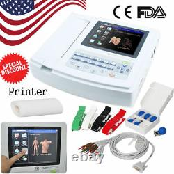 USA CONTEC 12 Channel 12 Lead ECG EKG machine Electrocardiograph Free software