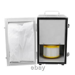 USA Dental Dust Collector Vacuum Cleaner for Polishing Machine+ 2X Suction Base