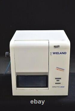 Weiland ZENOTEC Mini Dental Lab CAD/CAM Dentistry 115V Milling Machine Mill