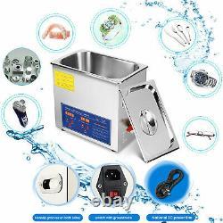 10l Professional Machine Nettoyeur À Ultrasons Numérique Avec Minuterie Nettoyage À Chaud