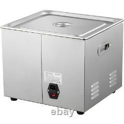 15l Ultrasonic Cleaner Heater Timer 600w 40khz Machine De Nettoyage De Bijoux