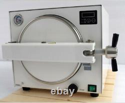 18l Dental Medical Autoclave Steam Sterilizer Stérilisation Machine Tr250n 110v